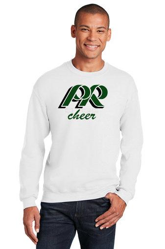 PRCheer-Crewneck Sweatshirt-PR Cheer Logo