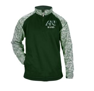 PRHS-Badger Sport Blend Quarter Zip Jacket