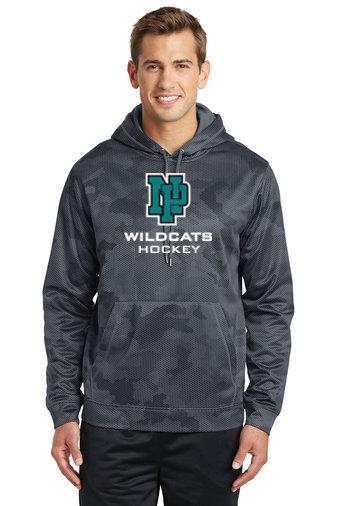 NP Wildcats-Performance Camohex Hoodie-NP Logo
