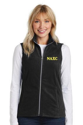 NAXC-Women's Full Zip Fleece Vest