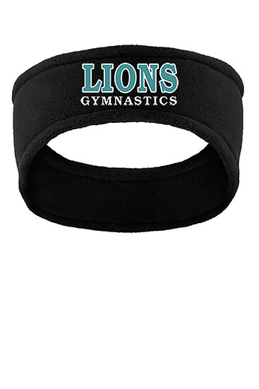 LionsGymnastics-Fleece Headband