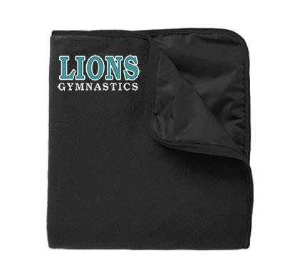 LionsGymnastics-Stadium Polyester Blanket