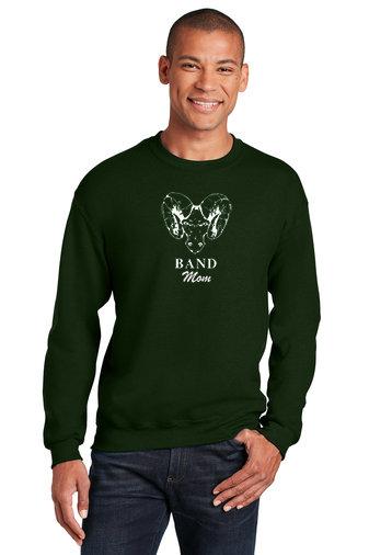 PRBand-Crewneck Sweatshirt-Ram Logo