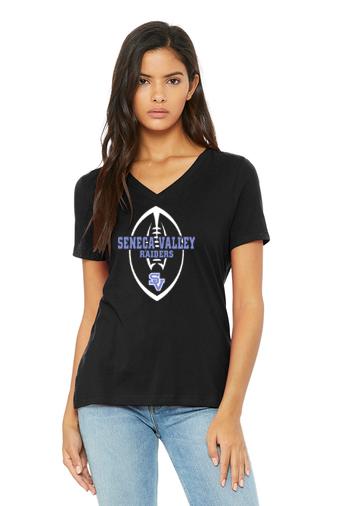 SVFootball-Women's V-Neck Shirt