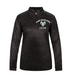 PR Crew-Women's Badger Tonal Quarter Zip Jacket