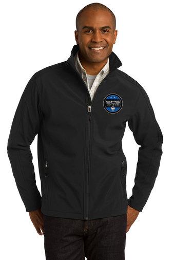 SCS-Men's Full Zip Soft Shell Jacket