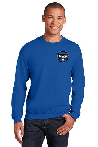 SCS-Crewneck Sweatshirt-Left Chest Logo