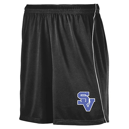 SVGirlsSoccer-Athletic Shorts With Piping