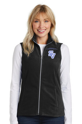 SVFootball-Women's Full Zip Fleece Vest