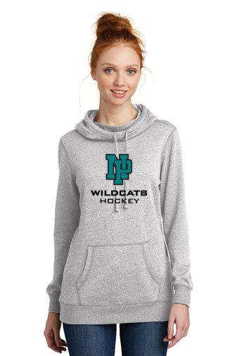 NP Wildcats-Women's Lightweight Hoodie-NP Logo