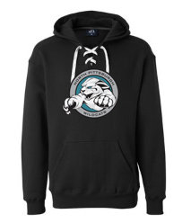 NP Wildcats-Lace Up Hoodie