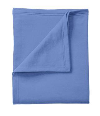 FlashSale!-Columbia Blue Sweatshirt Blanket