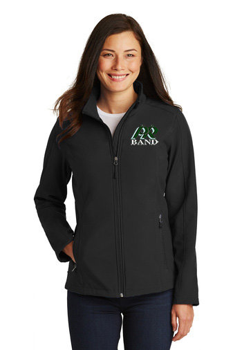 PRBand-Women's Full Zip Soft Shell Jacket