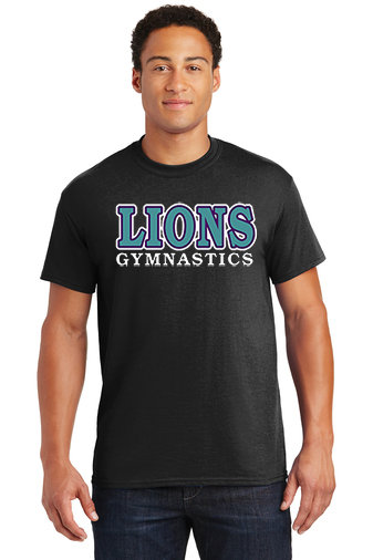LionsGymnastics-Short Sleeve Shirt