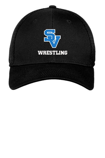 SVWrestling-New Era Flex Fit Mesh Hat
