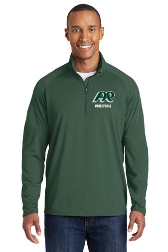copy of PRVolleyball-Printed Men's Sport Wick Quarter Zip Jacket