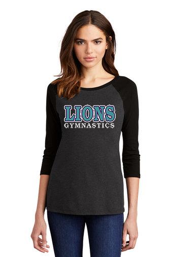 LionsGymnastics-Women's Baseball Style Shirt