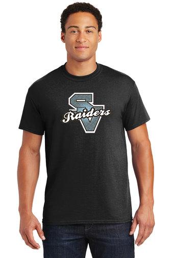 SVGirlsSoccer-Short Sleeve Shirt-SV Logo