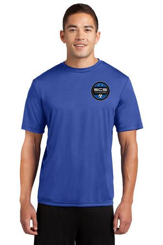 SCS-Short Sleeve Dri Fit Shirt-Left Chest Logo
