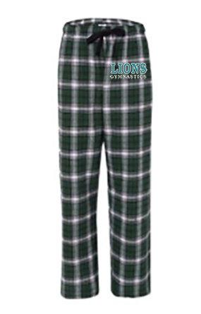 LionsGymnastics-Unisex Flannel Pants