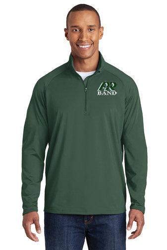 PRBand-Men's Sport Wick Quarter Zip Jacket
