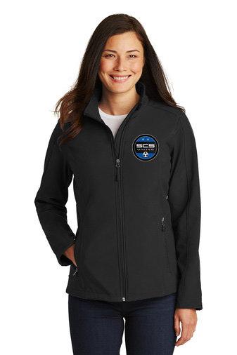 SCS-Women's Full Zip Soft Shell Jacket