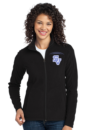 SVJuniorFootball-Women's Full Zip Fleece Jacket
