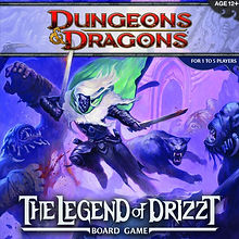Legend of Drizzt Board Game, The (Dungeons & Dragons)