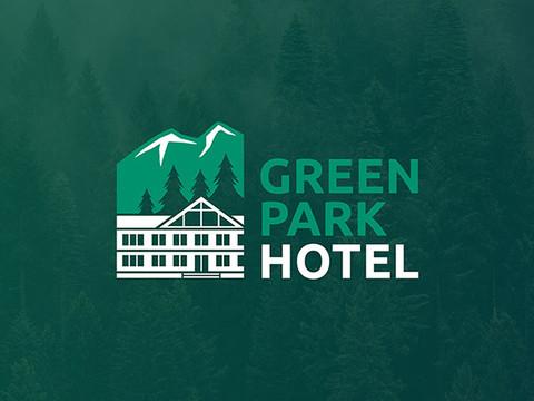 """Логотип - гостиница """"Green Park Hotel"""""""