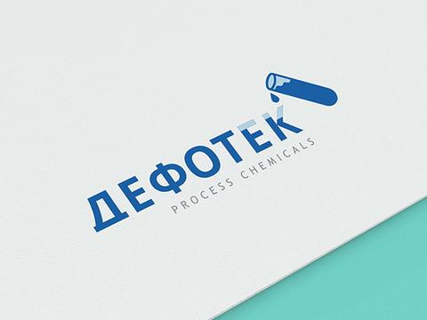 """Логотип - """"Дефотек"""""""