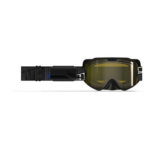 509 KingPin Ignite X6L Heated Goggle - Whiteout - Yellow Polarized Lens