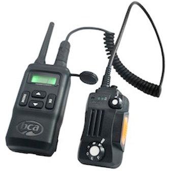 BCA - BC Link - 2-way Radio w Smart Mic - Snowmobile Radio  - Black