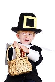 Pilgrim Bearing Gifts