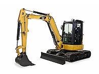 Cat 305E2 CR Mini Excavator Attachments