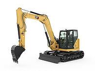 Cat 308 CR Mini Excavator Attachments