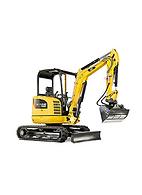 Caterpillar 302.7D CR Mini Excavator Attachments