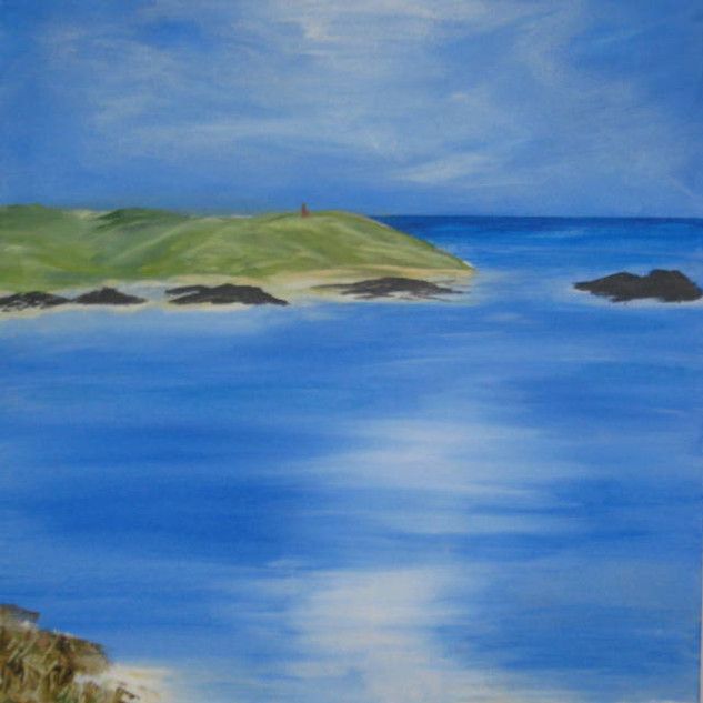 Cornish Seascape - 20x16