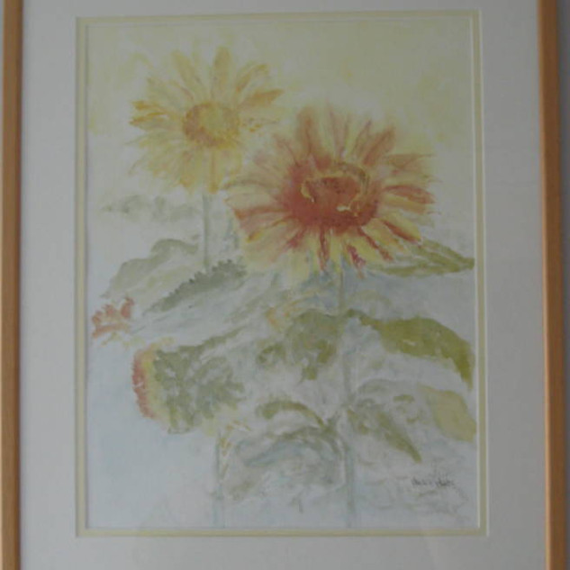 Sunflowers - 15.5x19.5