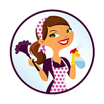 Maid to order cleaning services logo