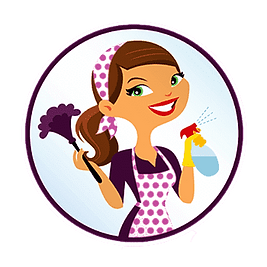 Happy Domestic Cleaner