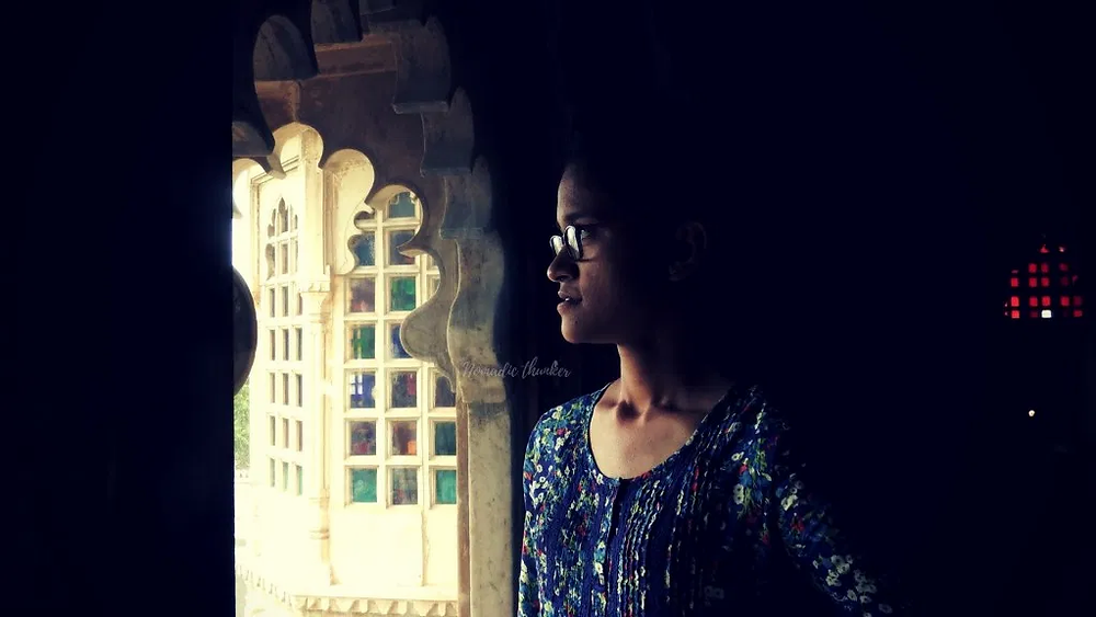 udaipur, silhouette