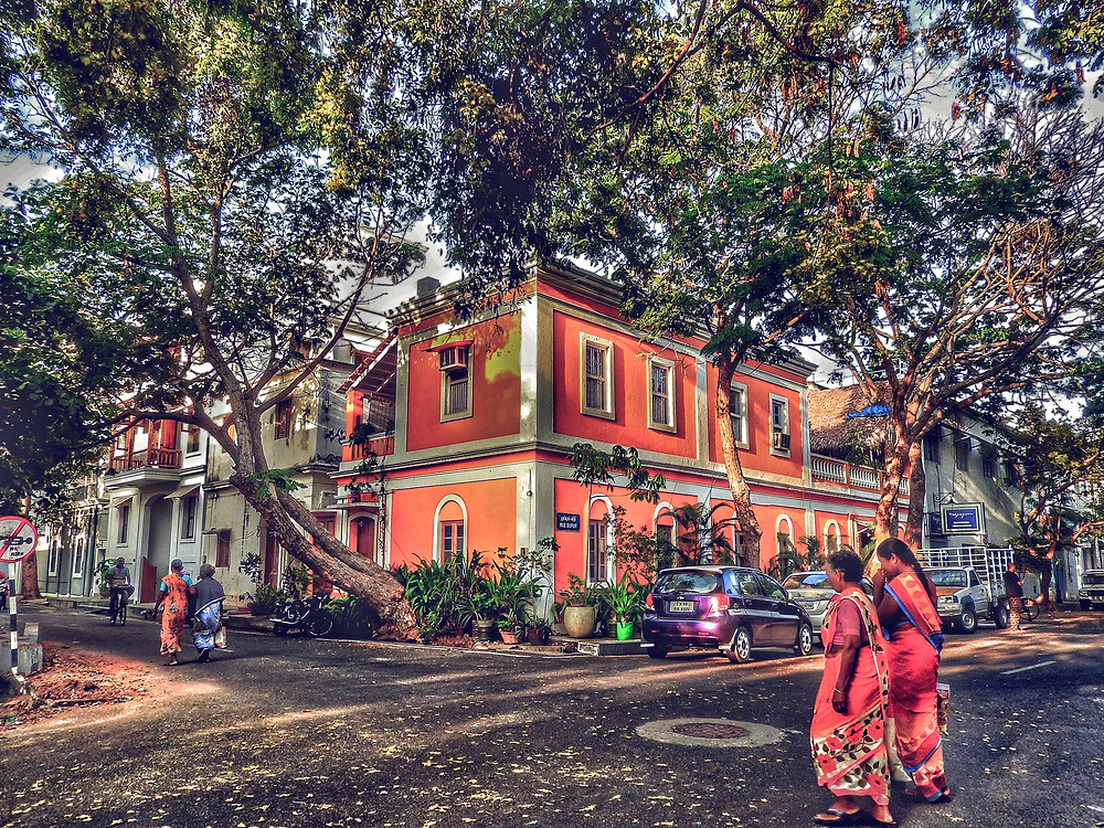 French Quarter, Pondicherry