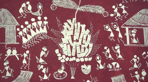 warli, painting, tribal art, indigenous culture, Maharashtra, India