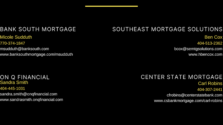 Black and White Simple Real Estate Listi