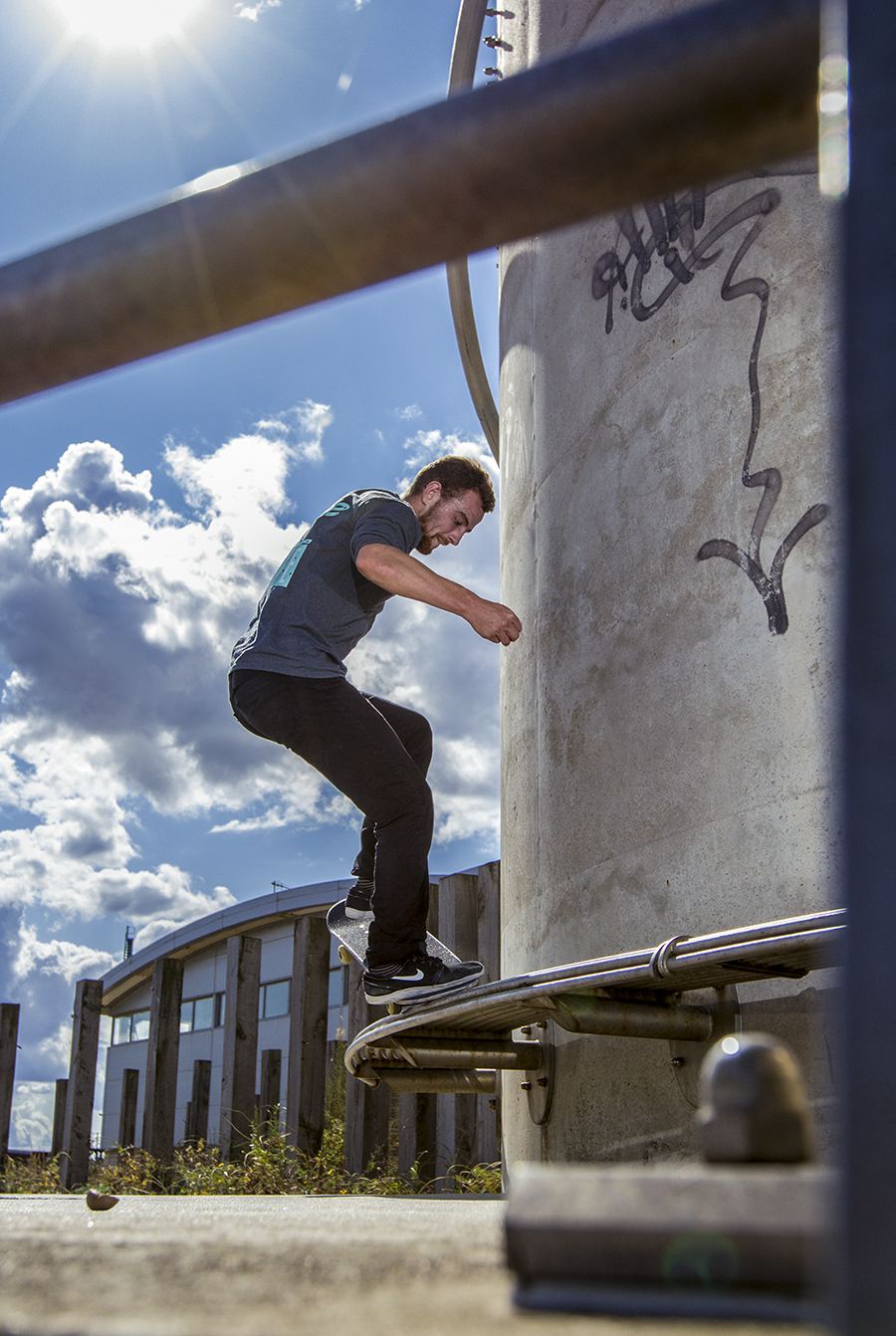 Jacob Attenborrow - FS Nose Grind