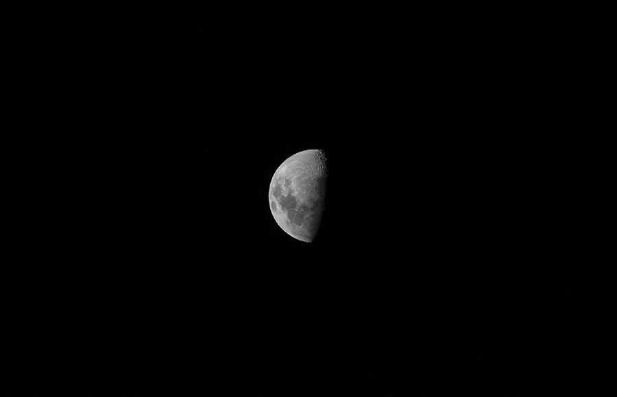 Southern Hemisphere Moon