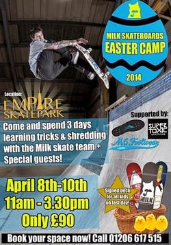 Empire Skatepark Poster