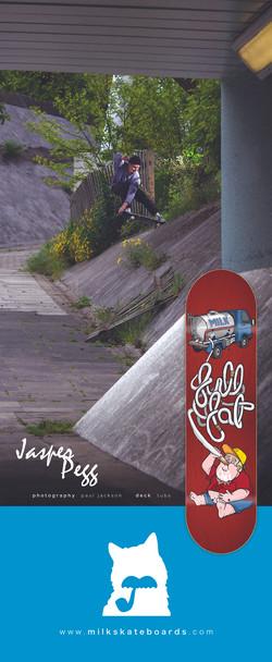 Milk Skateboards advert