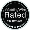 Wedding Wire Rated 100 Reviews