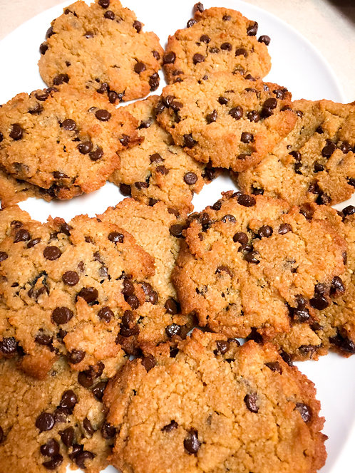 6 ea. Sugar-Free Low-Carb Chocolate Chip Cookies